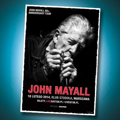 John Mayall ponownie w Polsce!