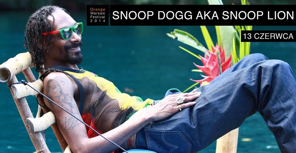Snoop Lion wystąpi na Stadionie Narodowym