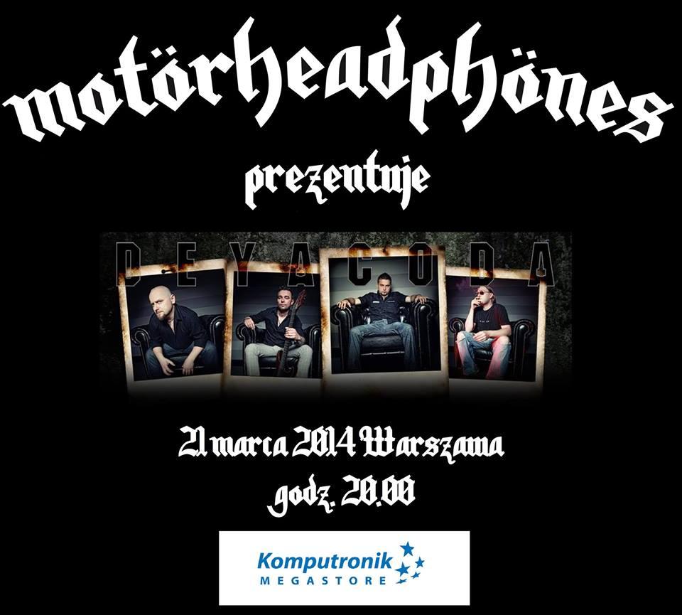 Konkurs: Motörheadphönes oraz płyta formacji Deyacoda