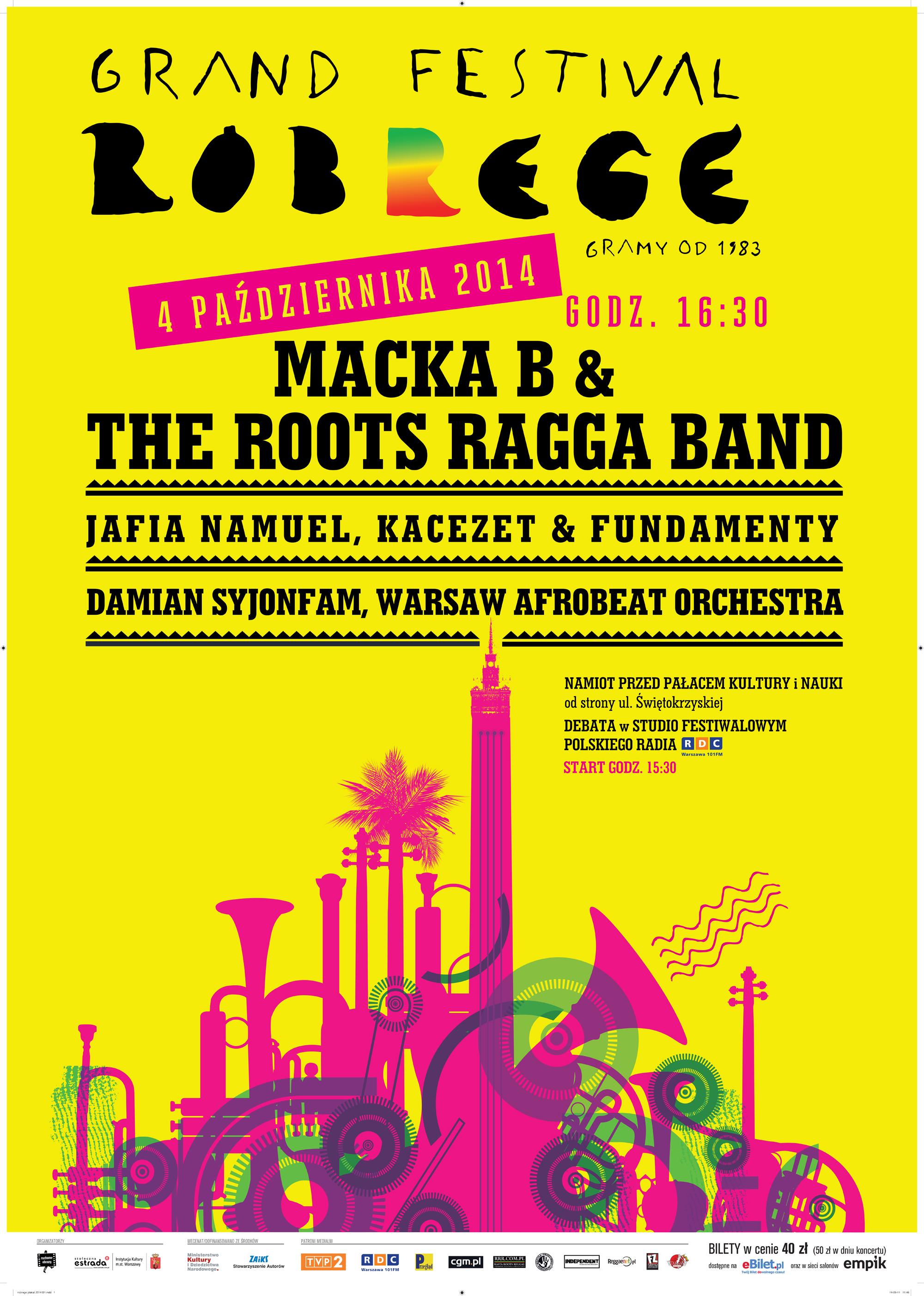 Legendarny festiwal powraca - święto reggae w Warszawie!