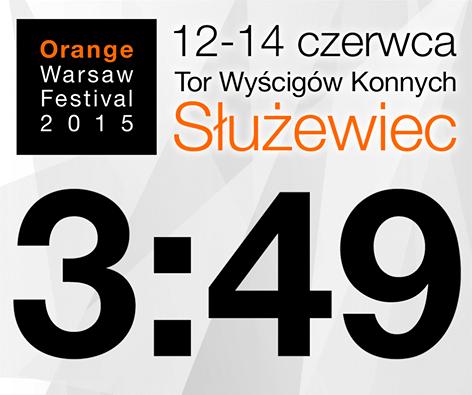 Czterech artystów zasila skład Orange Warsaw Festival