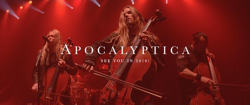 Apocalyptica pierwszą gwiazdą Przystanku Woodstock 2016!