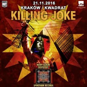 Killing Joke w Polsce!