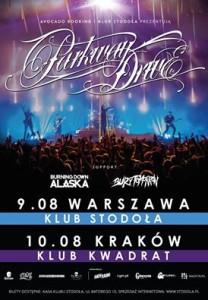Parkway Drive w sierpniu w Warszawie i Krakowie