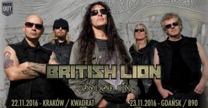 Steve Harris British Lion w Polsce