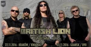 Steve Harris British Lion w Polsce
