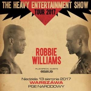 Robbie Williams wystąpi na Stadionie Narodowym!