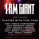 I Am Giant announced european tour